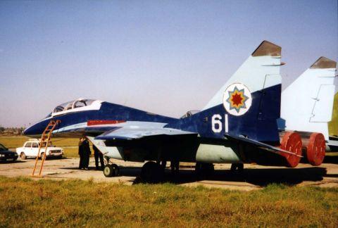 Moldovan MiG 29B trainer