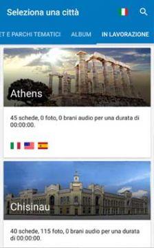 Homepage di Scelta delle Cttà