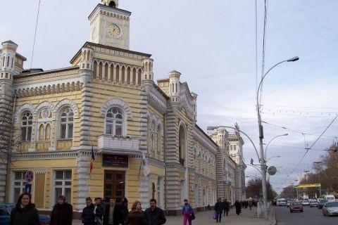 Il municipio di Chisinau