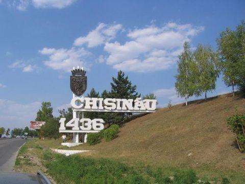 Intrarea in Chisinau