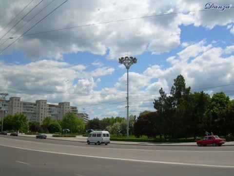 piazza Suvorov  - Tiraspol