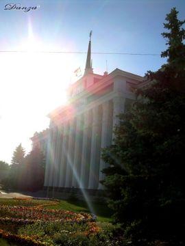 il palazzo dei soviet - Tiraspol