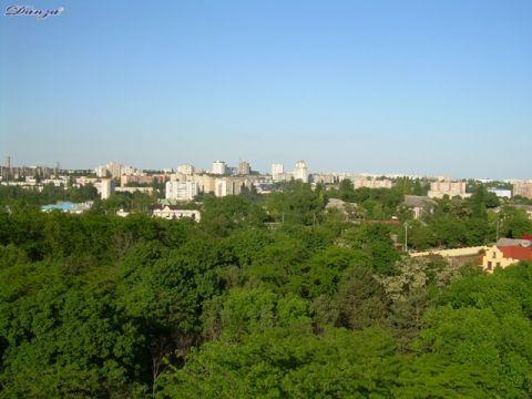Tiraspol visto dalla ruota panoramica