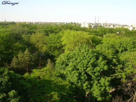 il più grande parco di Tiraspol visto dalla ruota panoramica