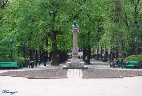 il monumento di A Puskin